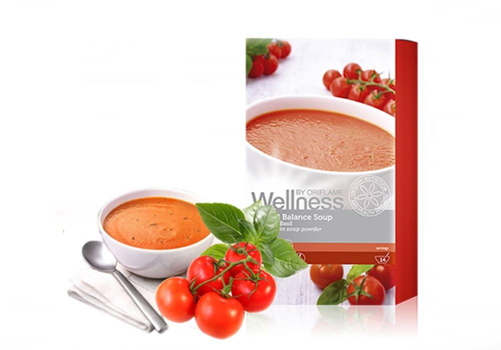 Суп для похудения Томат и базилик